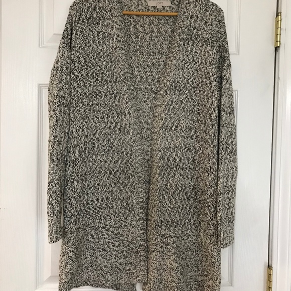 c26b1355d3 LOFT Chunky Grandpa Slouchy Cardigan Sweater